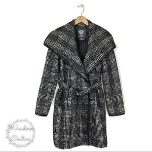 Vince Camuto Tweed Trench Coat